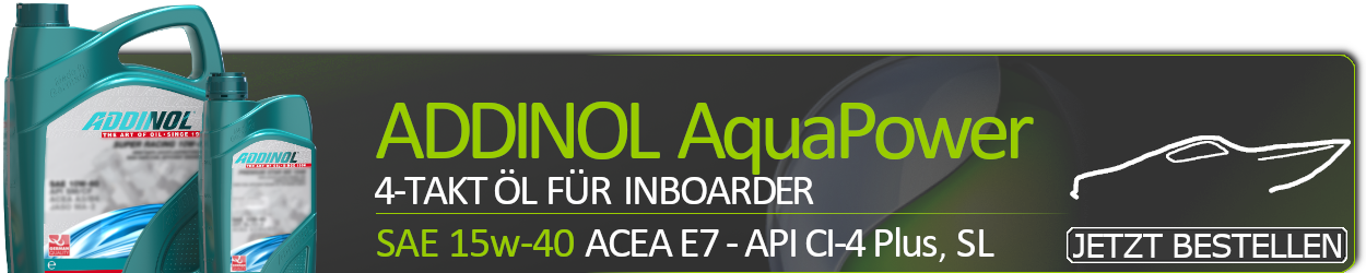 ADDINOL AquaPower Inboard 4T 1540 15W-40