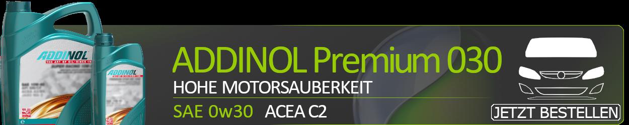 ADDINOL Motoröl 0W30 Premium 030 C2