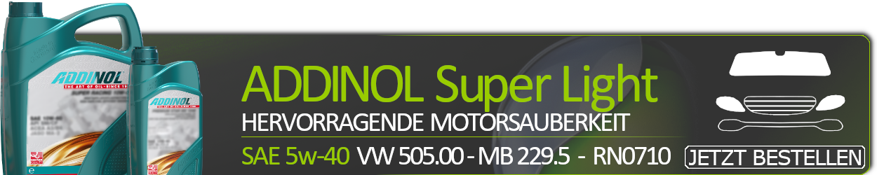 ADDINOL Motoröl 5W40 Super Light 0540