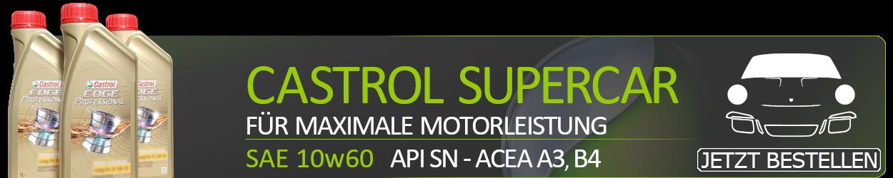 Castrol Motoröl 10W60 Edge Supercar Titanium FST 10W-60