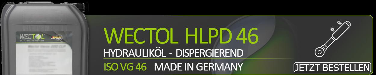 WECTOL Hydrauliköl Hydran HLPD 46
