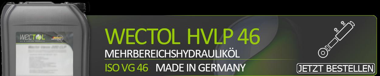 WECTOL Hydrauliköl Hydran HVLP 46