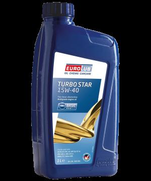 Eurolub Motoröl 15W40 Turbo Star 15W-40 / 1 Liter